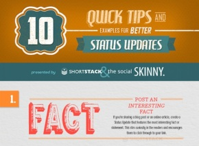 Infographic: 10 Tips For Posting Better Social Media Updates